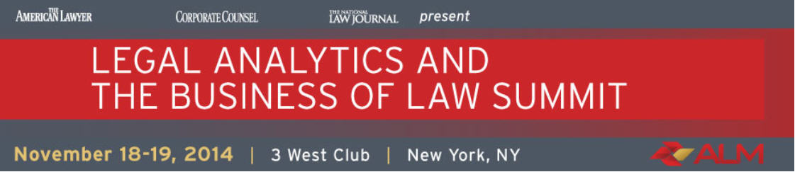 Legal Analytics and the Business of Law Summit